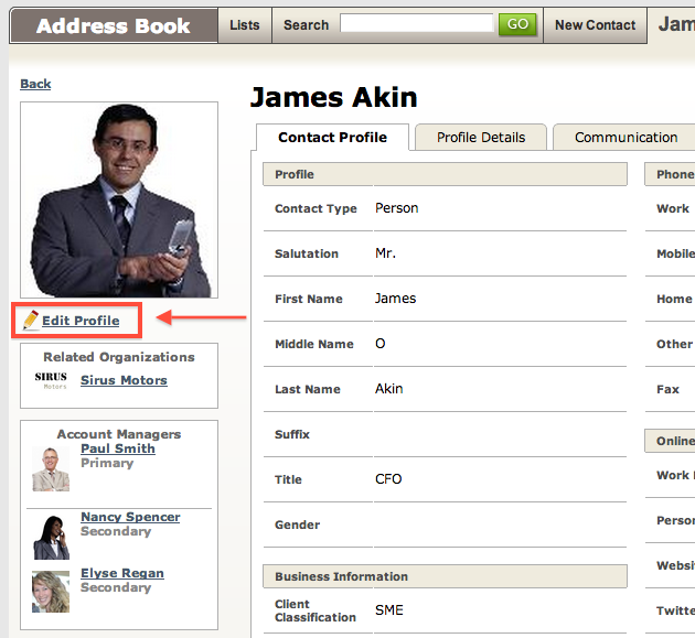 Assign an Account Manager to a Client4