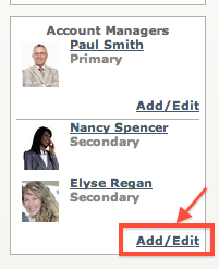 Assign an Account Manager to a Client5