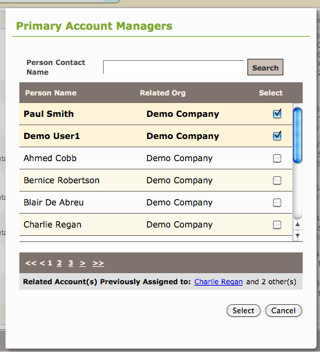 Assign an Account Manager to a Client6