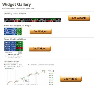 Custom Front Page Widgets (HTML)10