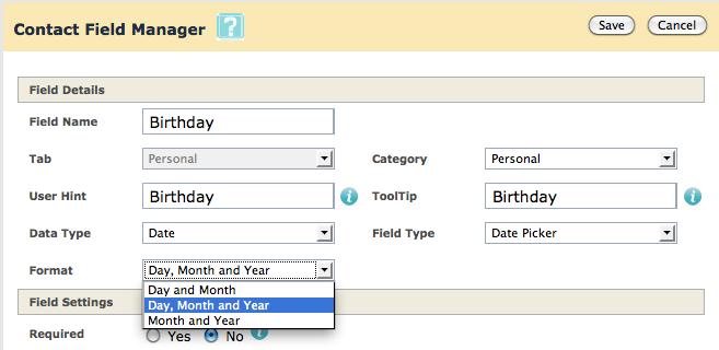 Manage User Defined Fields5