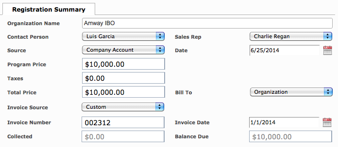 Organization Program (In-House Pricing)2