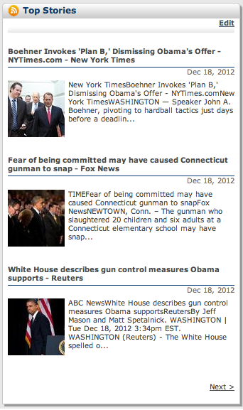 Real-Time News Feeds (RSS)4