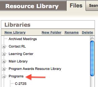Share Program-Related Files1