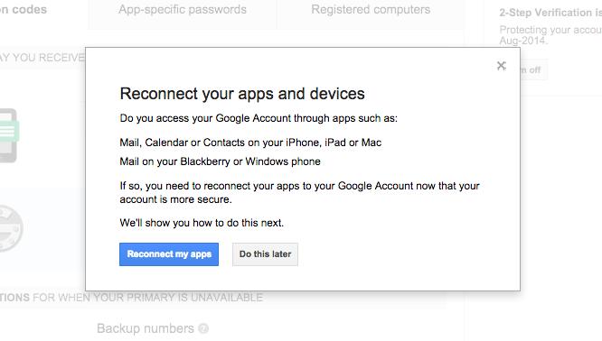 Turn ON 2-Step Verification (Google)5