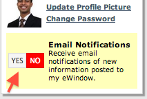 eWindow Email Notifications1
