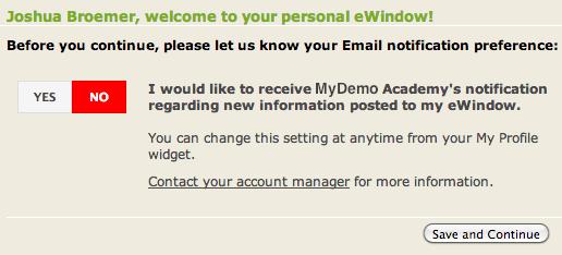 eWindow Email Notifications2