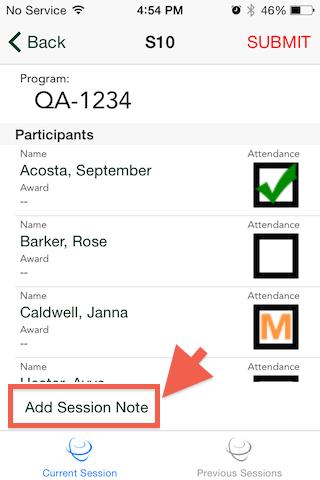 Mobile App for Attendance & Awards10