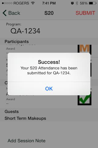 Mobile App for Attendance & Awards12