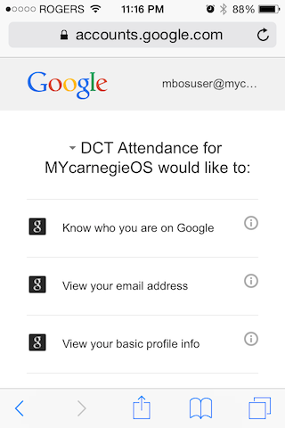 Mobile App for Attendance & Awards3