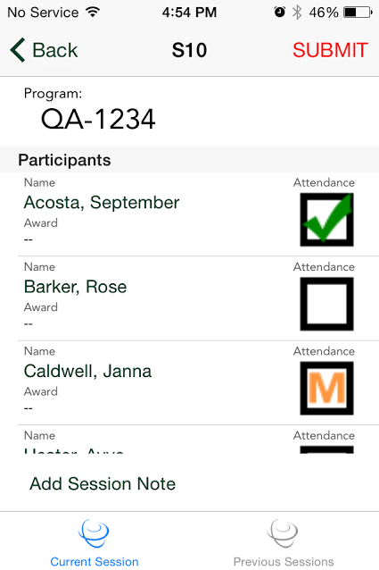 Mobile App for Attendance & Awards8